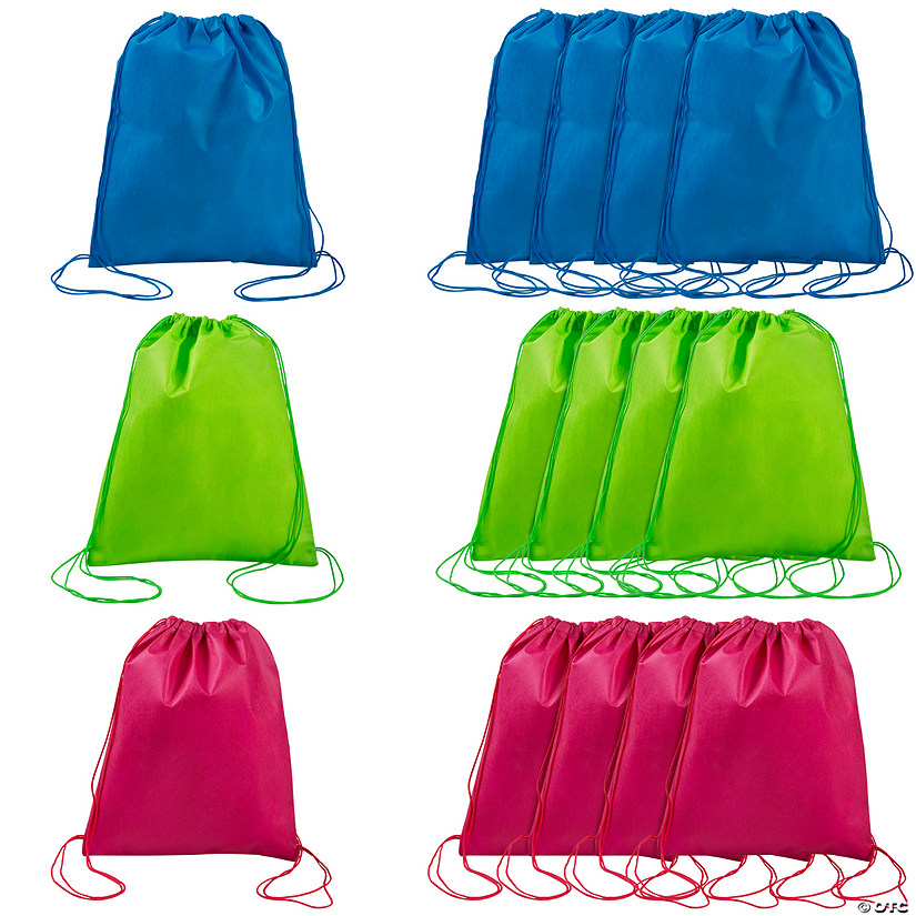 Medium Bright Color Drawstring Bags Image Thumbnail