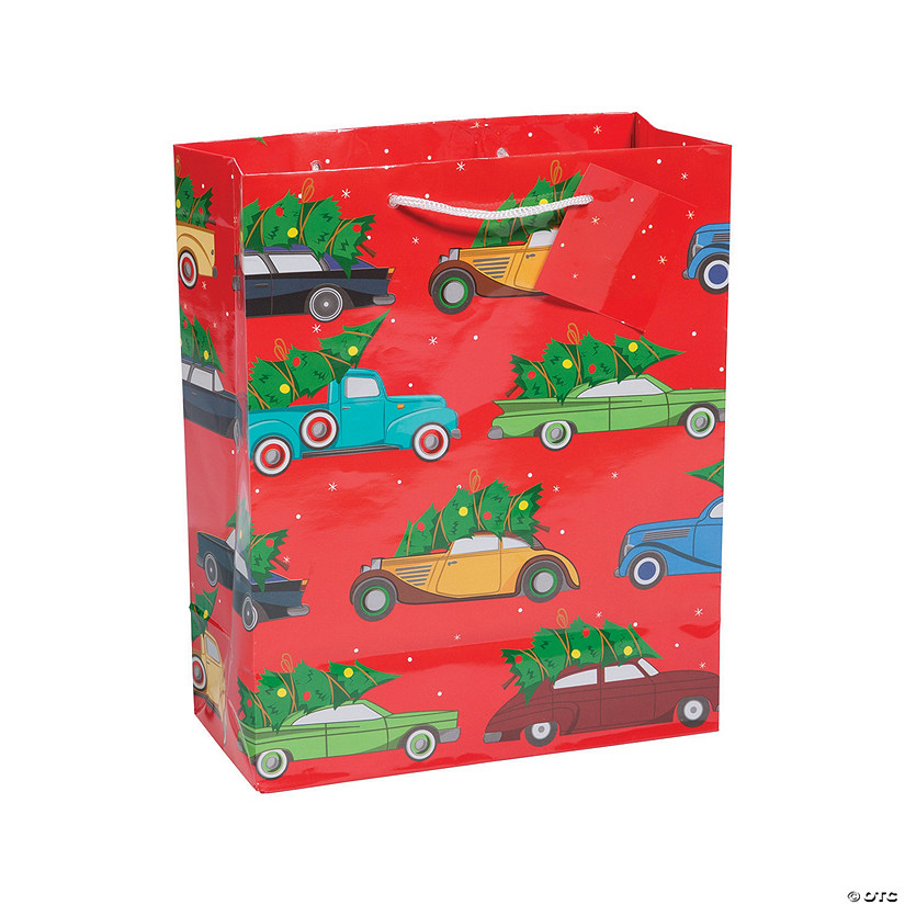 Medium Christmas Campers Gift Bags Discontinued