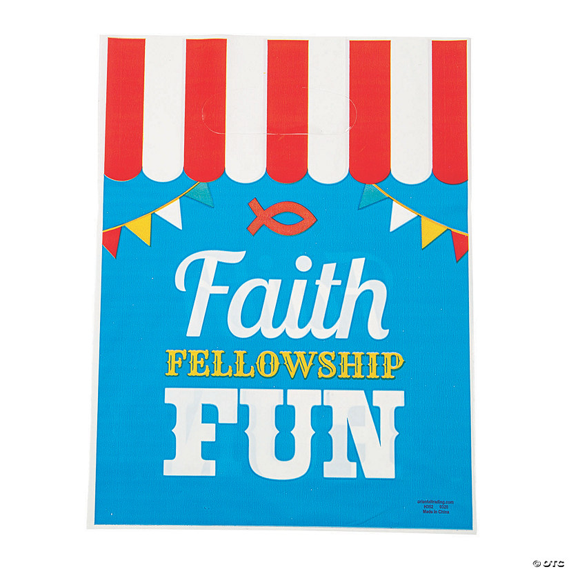 Medium Church Carnival Treat Bag Image Thumbnail