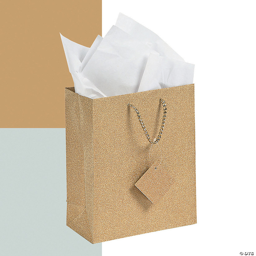 Medium Glitter Gift Bags with Tags Audio Thumbnail