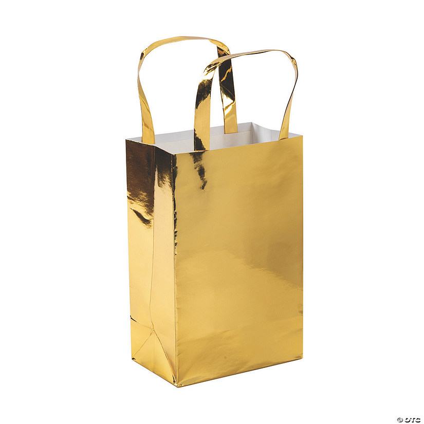 Medium Gold Foil Gift Bags Audio Thumbnail