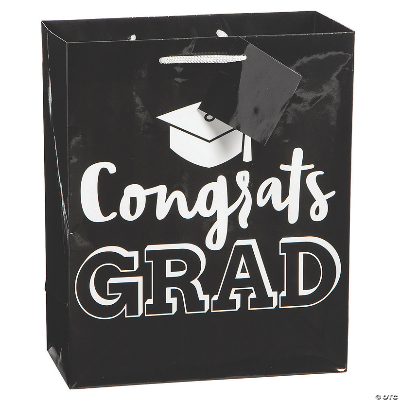 Medium Graduation Gift Bags with Tag Audio Thumbnail
