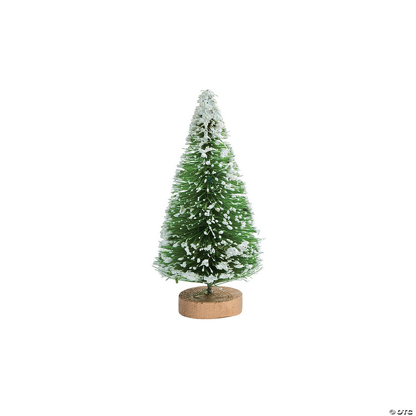 Medium Green Frosted Sisal Trees Image Thumbnail