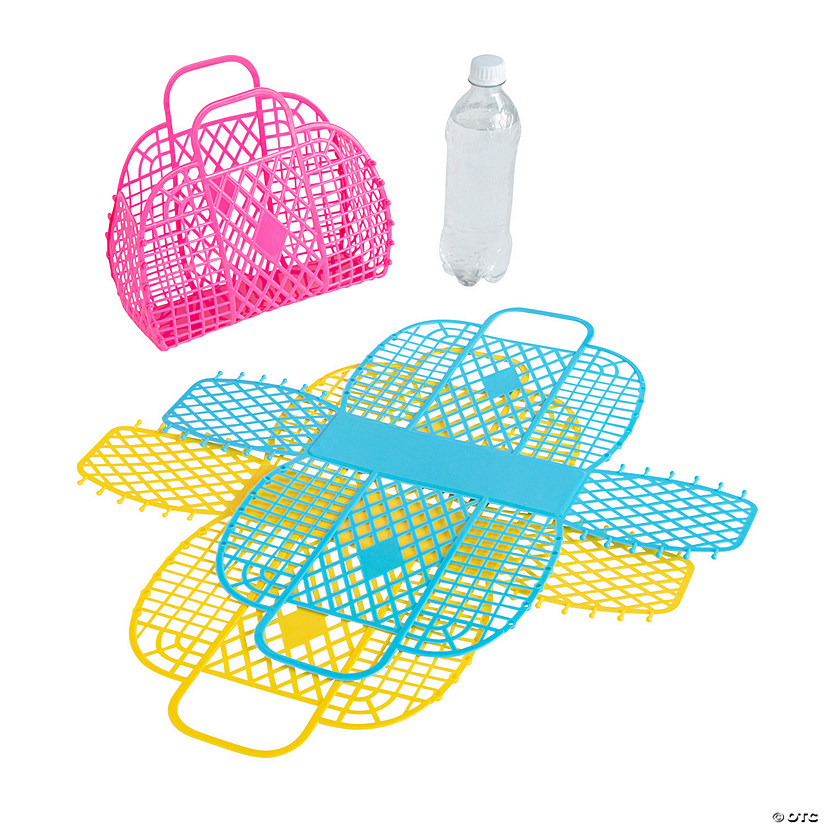 Medium Jelly Beach Tote Bags Image Thumbnail