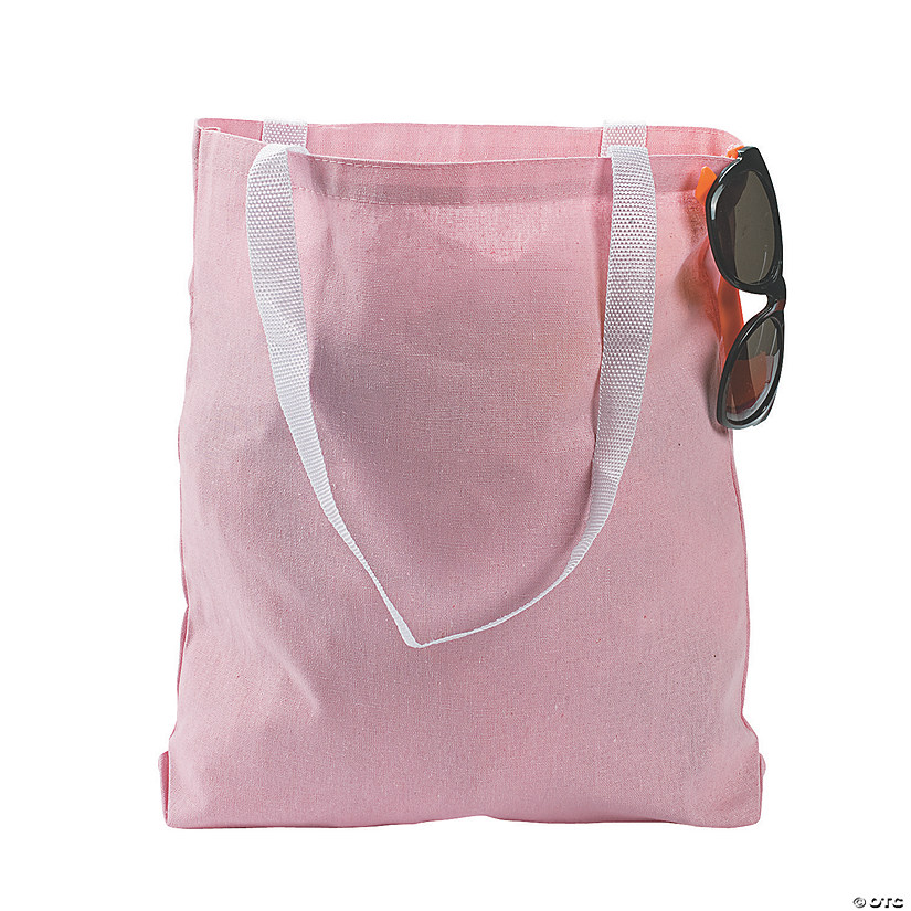 Medium Light Pink Tote Bags Audio Thumbnail