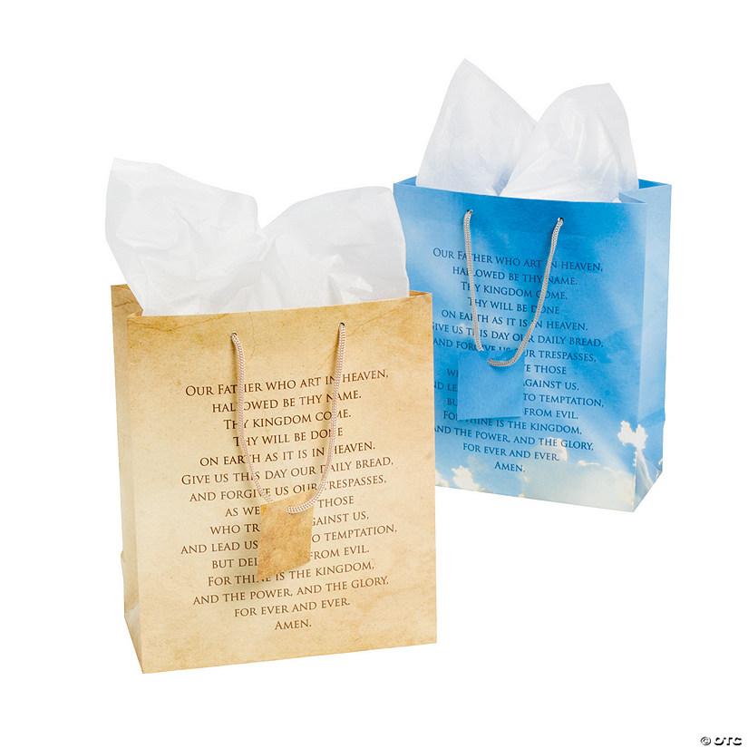 medium lords prayer gift bags