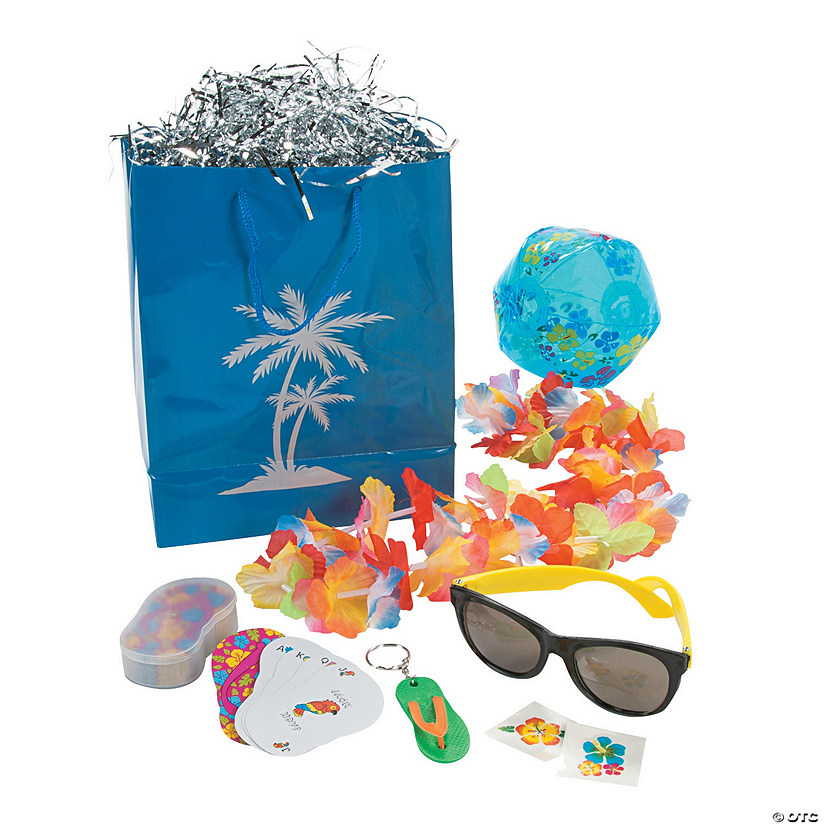 Medium Luau Pre-Filled Gift Bag