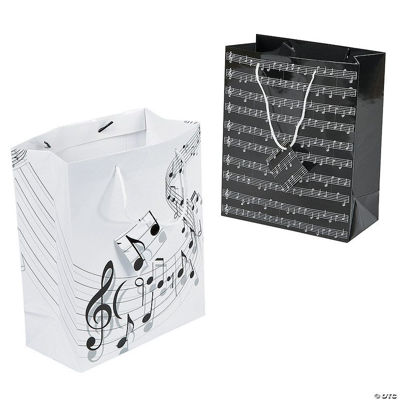 Medium Music Gift Bags with Tags Audio Thumbnail