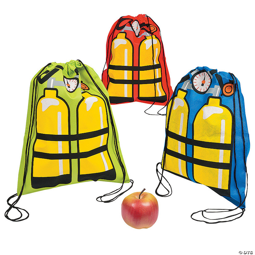 Medium VBS Scuba Tank Drawstring Bags