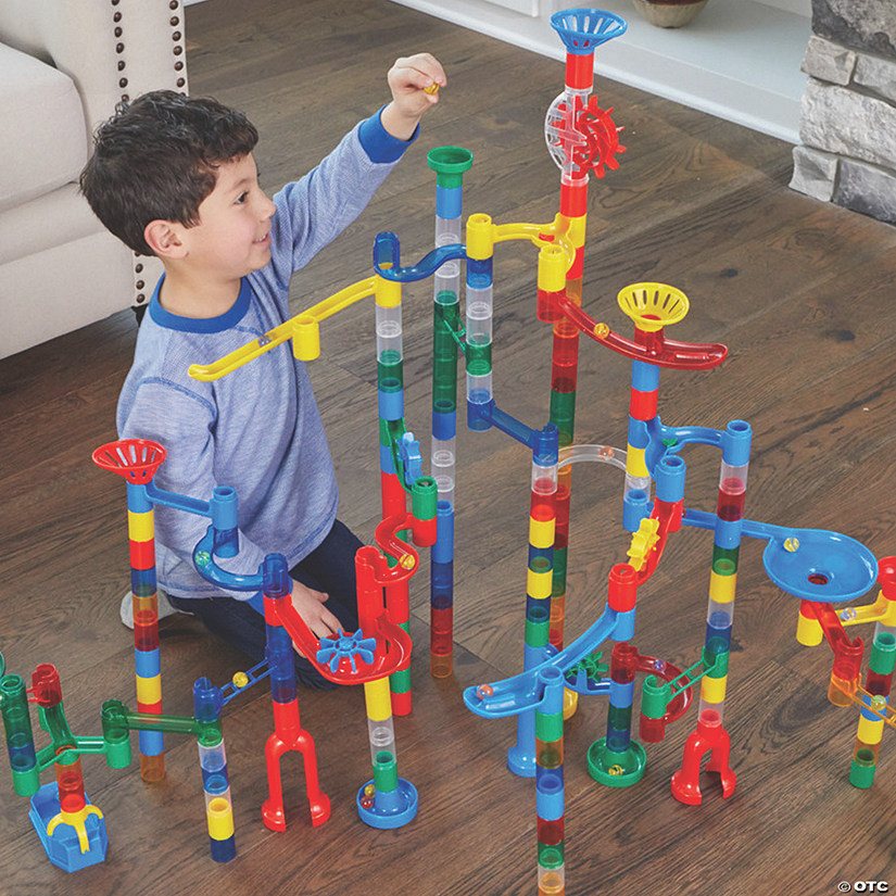 Mega Marble Run: 215-Piece Set
