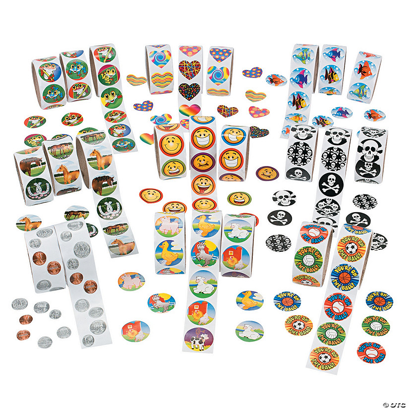 Mega Rolls of Stickers Assortment Audio Thumbnail