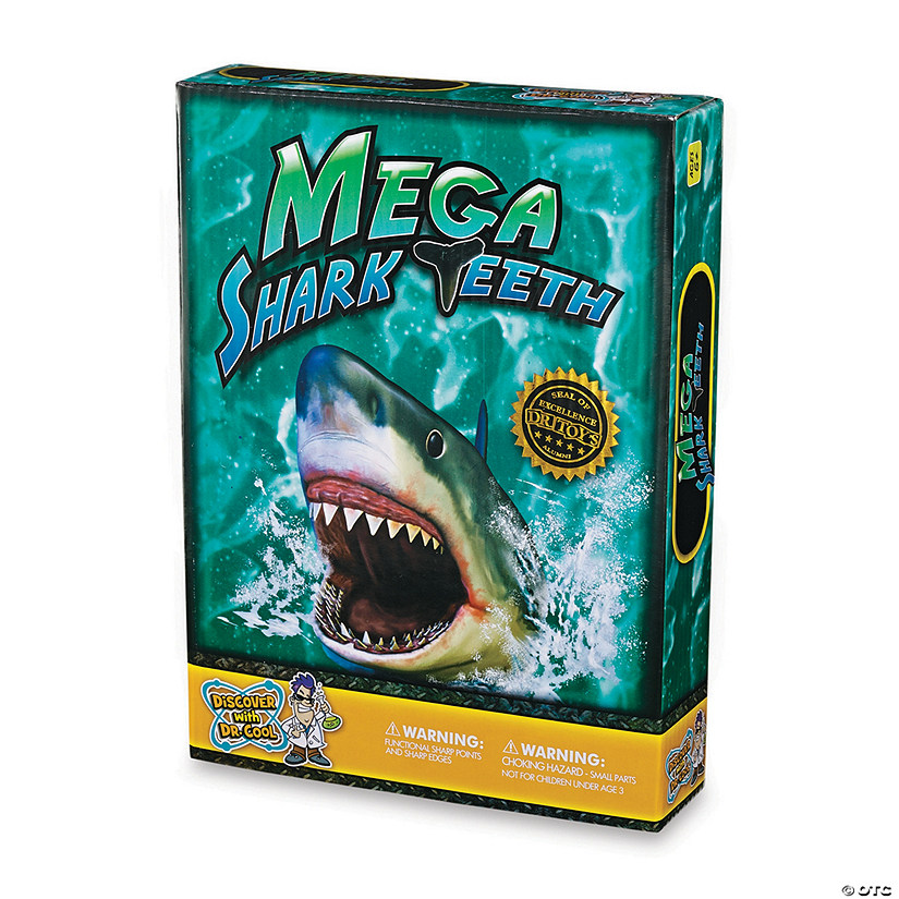 Mega Shark Teeth Audio Thumbnail