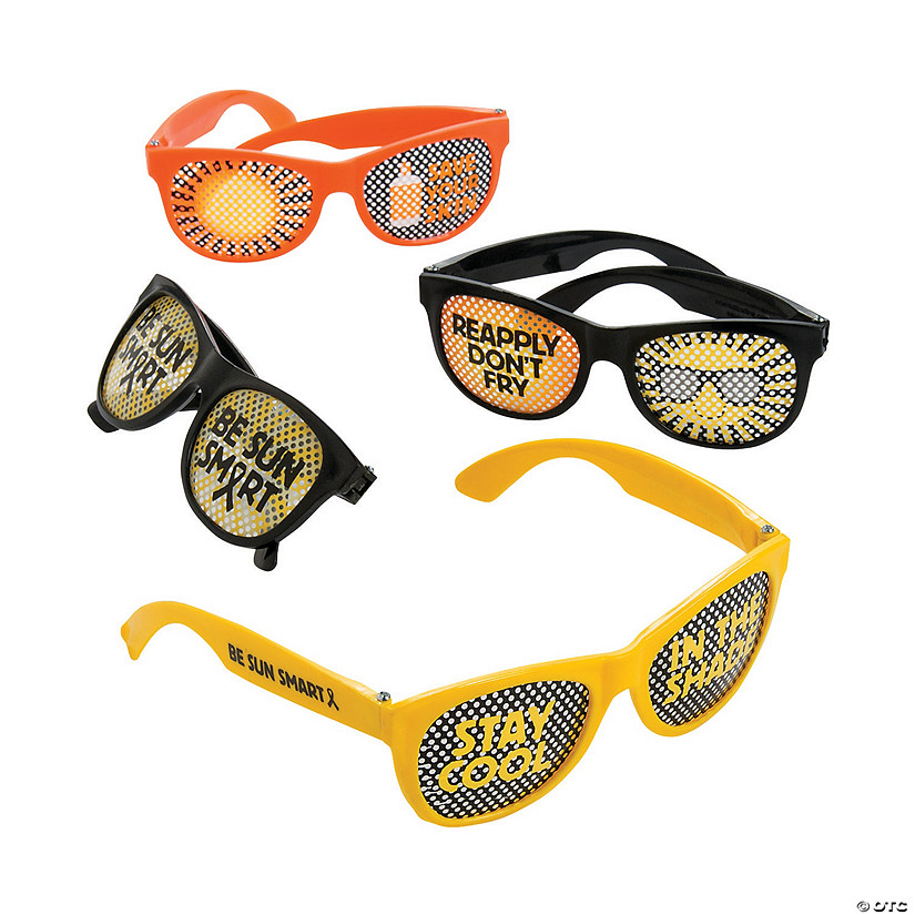 Melanoma Awareness Pinhole Glasses