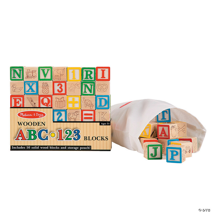 Melissa & Doug® ABC & Number Building Blocks Set Audio Thumbnail
