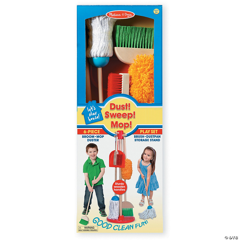 Melissa & Doug Dust, Sweep and Mop Set