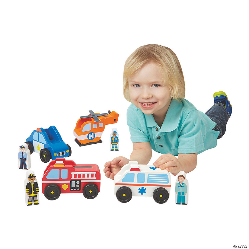Melissa & Doug® Emergency Vehicle Set Audio Thumbnail