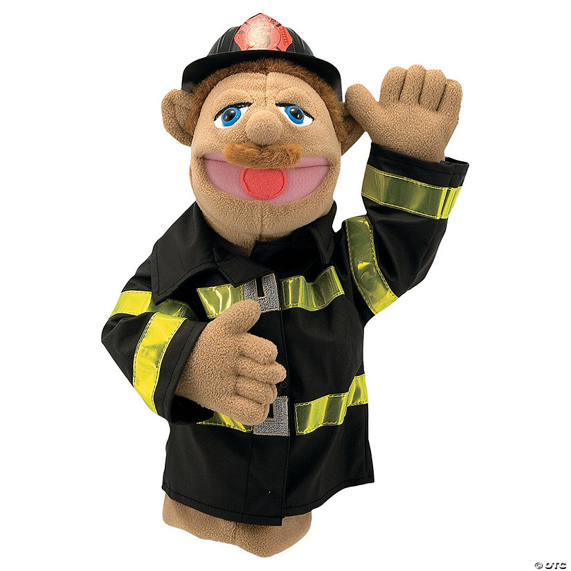 Melissa & Doug® Firefighter Puppet Audio Thumbnail