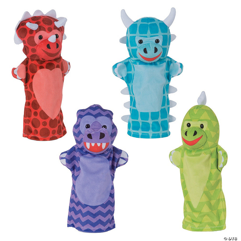 Melissa & Doug® Plush Dinosaur Friends Hand Puppets Audio Thumbnail