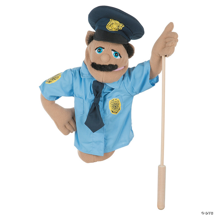 Melissa & Doug® Police Officer Puppet Audio Thumbnail