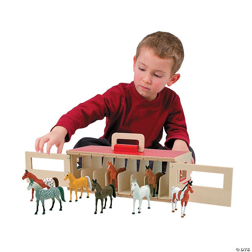 Melissa & Doug® Show Horse Stable Audio Thumbnail
