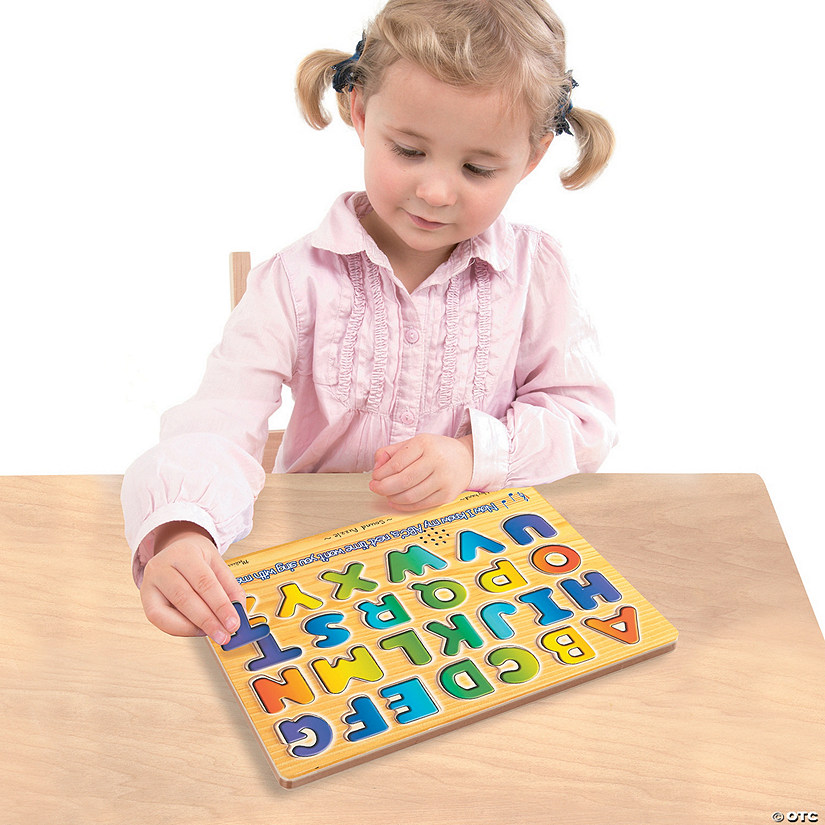 Melissa & Doug<sup>&#174;</sup> Alphabet Sound Puzzle Audio Thumbnail