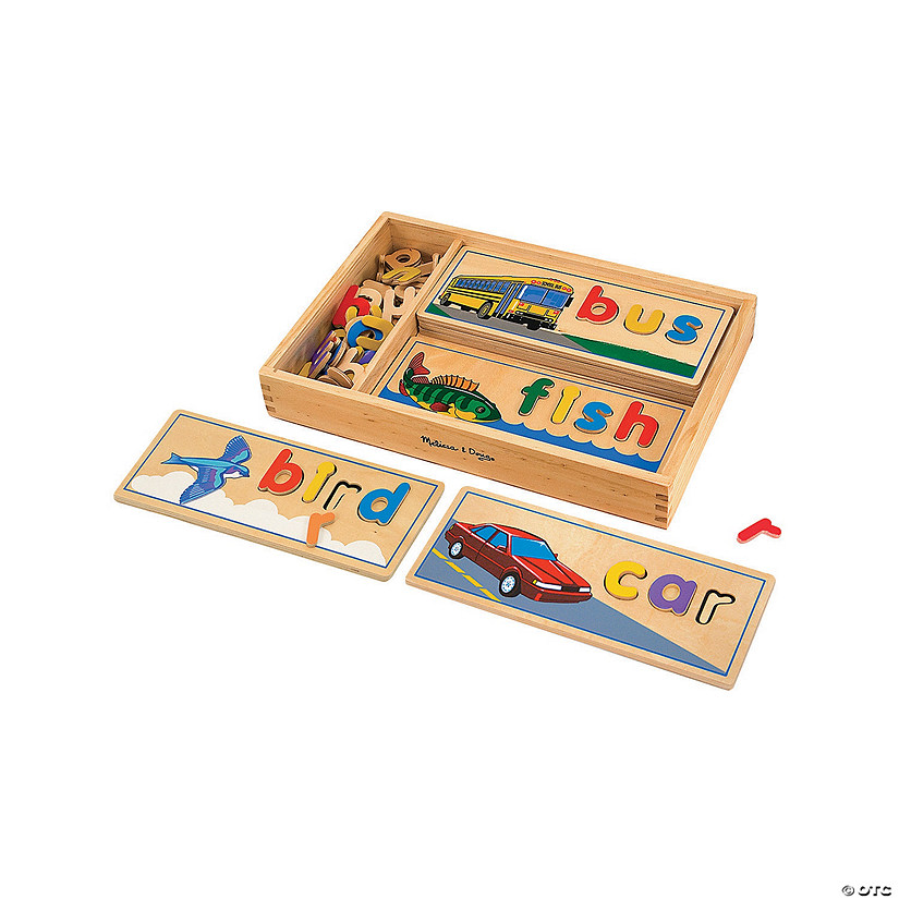 Melissa & Doug<sup>&#174;</sup> See & Spell Puzzle Set Image Thumbnail