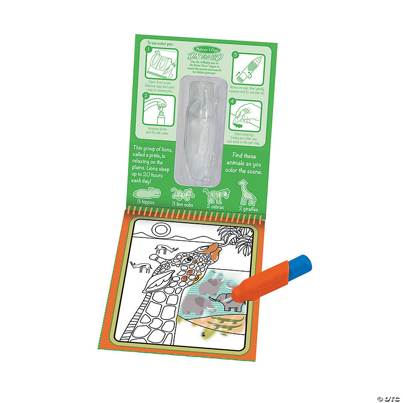 Melissa & Doug<sup>&#174;</sup> Water Wow! Safari Water Reveal Pad Audio Thumbnail