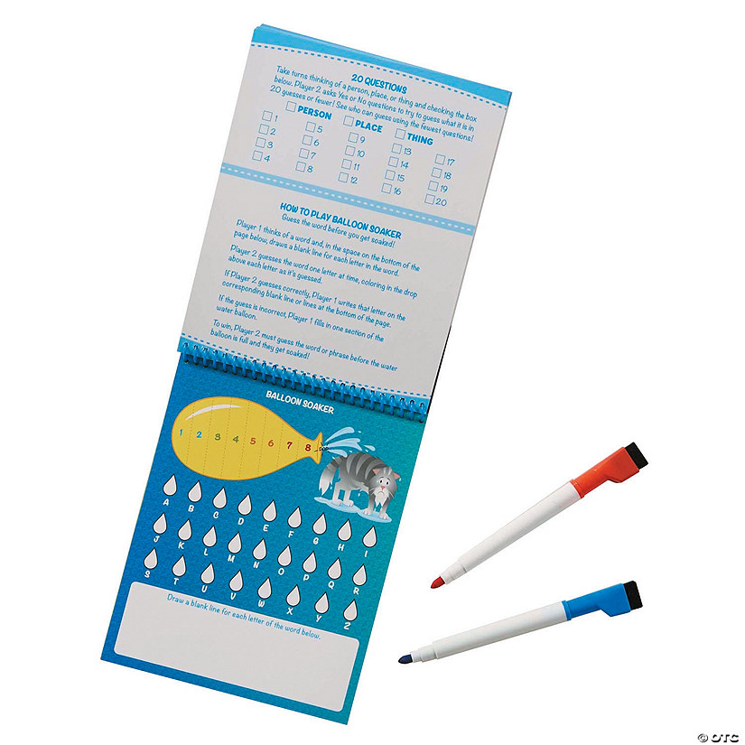Melissa & Doug<sup>&#174;</sup> Write-On/Wipe-Off Activity Games Pad Image Thumbnail