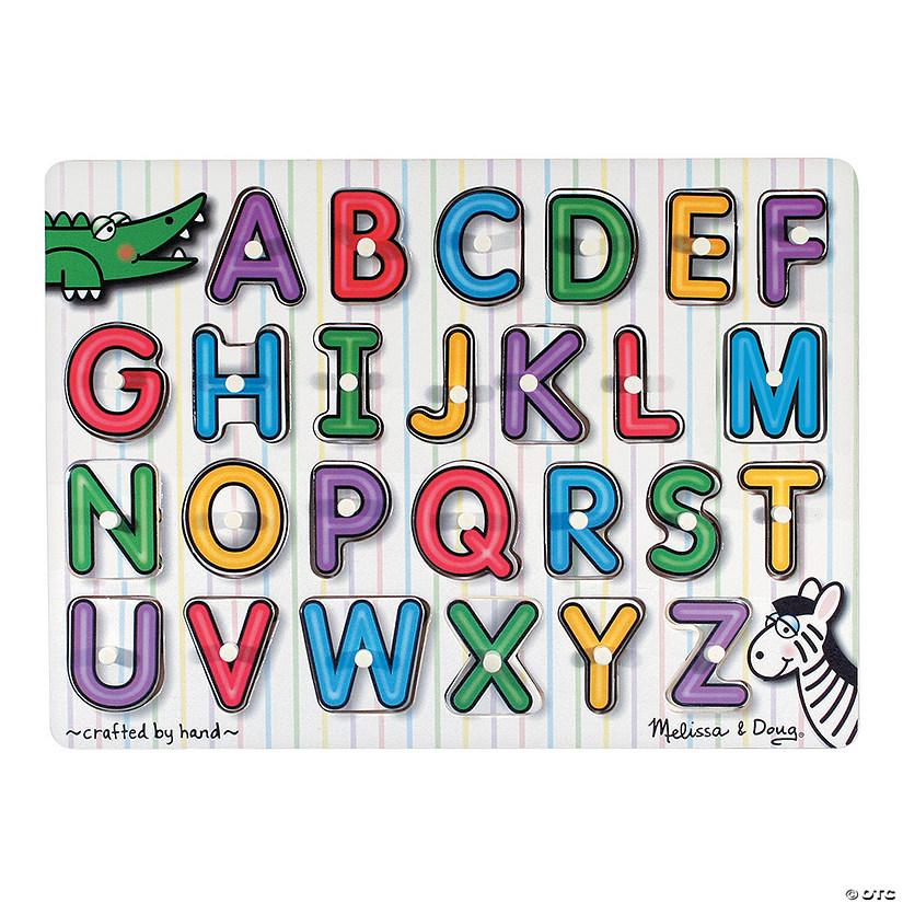 Melissa & Doug<sup>&#174;</sup> Alphabet Peg Puzzle Audio Thumbnail