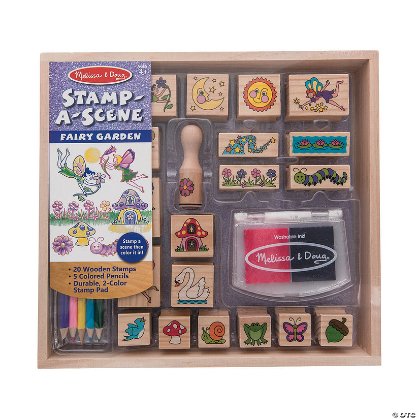 Melissa & Doug<sup>®</sup> Garden Stamp Set