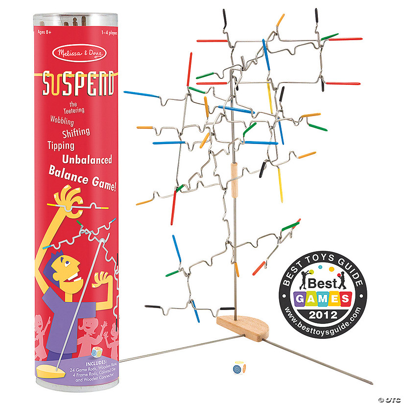 Melissa & Doug<sup>®</sup> Suspend Stacking Game