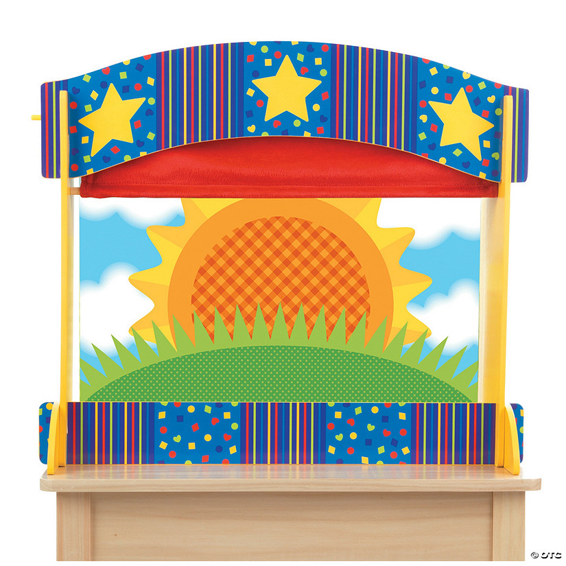 Melissa & Doug® Tabletop Puppet Theater Audio Thumbnail