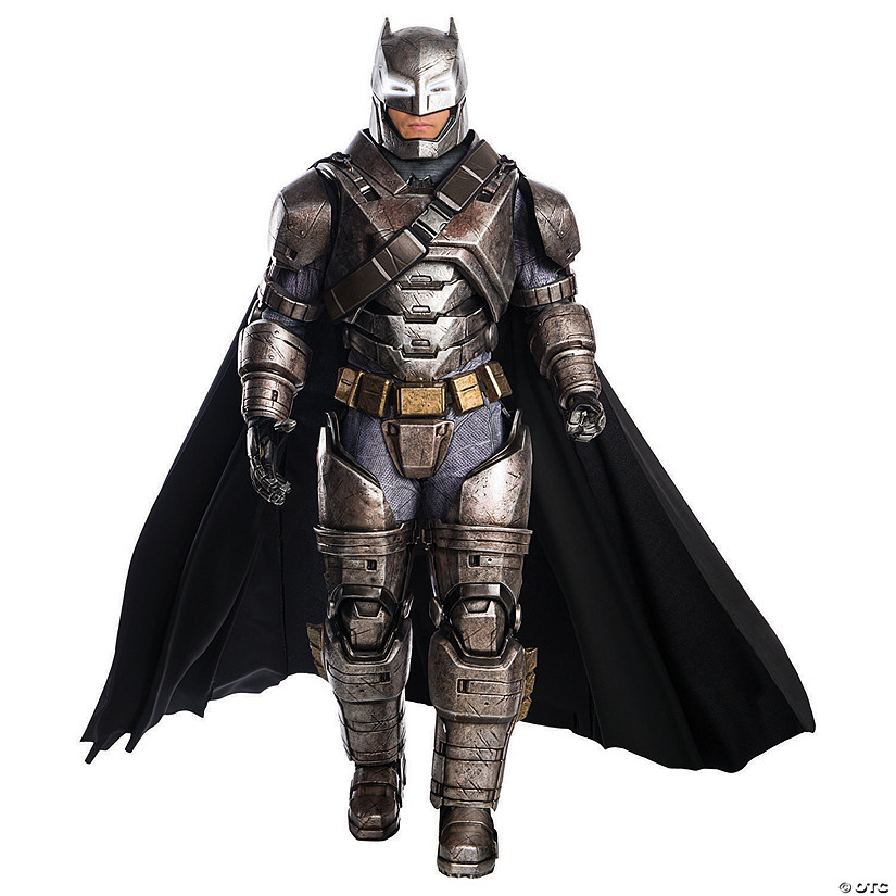 Men's Armored Supreme Edition Batman v Superman: Dawn of Justice™ Batman Costume Audio Thumbnail
