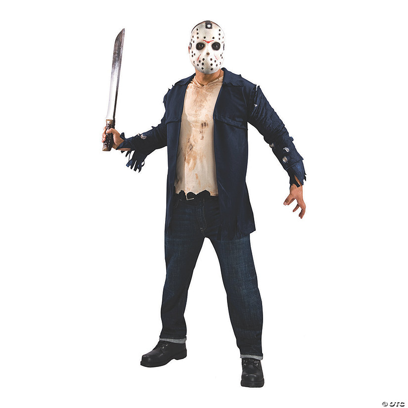 Men's Deluxe Jason Jacket Costume