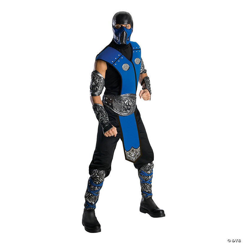 Men's Deluxe Mortal Kombat™ Sub-Zero Costume Audio Thumbnail