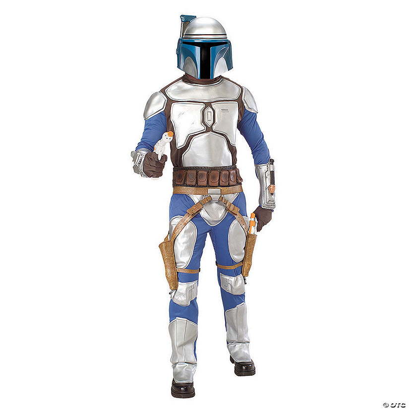 Men's Deluxe Star Wars™ Jango Fett Costume Audio Thumbnail