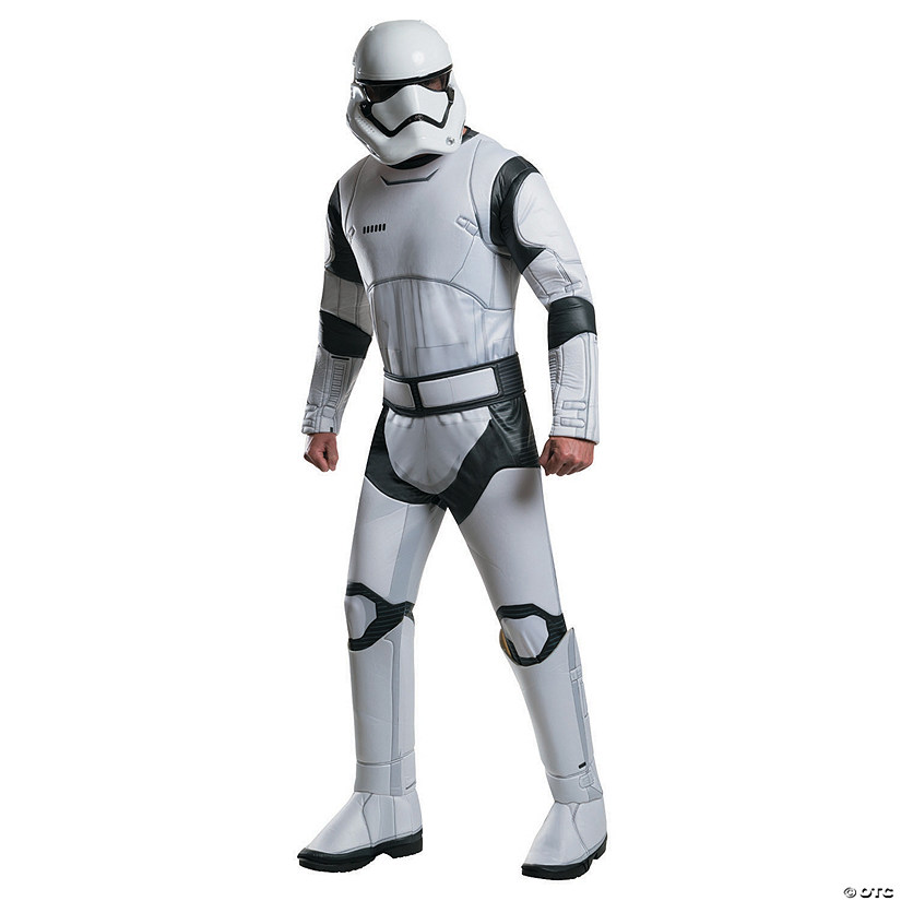 Men's Deluxe Star Wars: The Force Awakens™ Stormtrooper Costume - Extra Large Audio Thumbnail