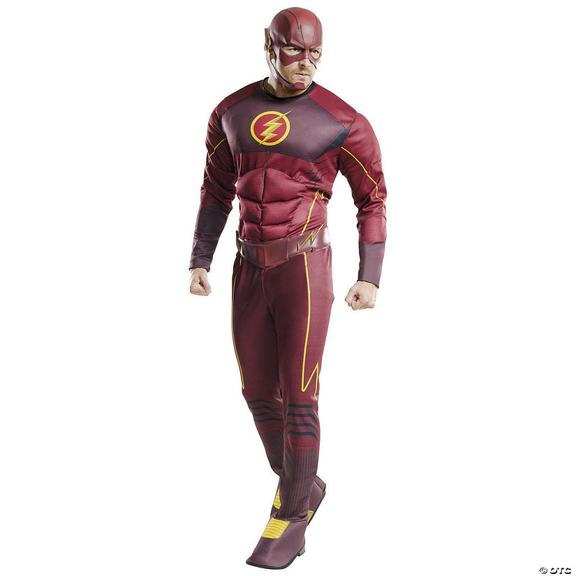 Men's Deluxe The CW's The Flash™ Costume Audio Thumbnail