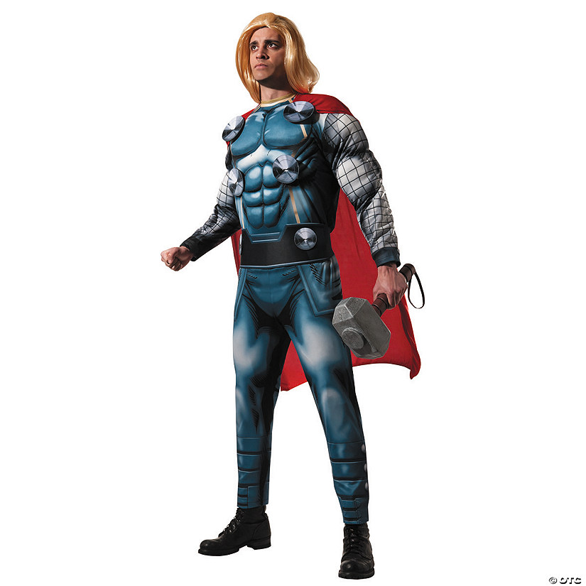 Men's Deluxe Thor Costume Audio Thumbnail