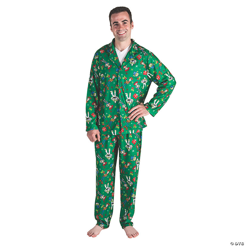 Men's Disney Toy Story™ Christmas Pajamas Audio Thumbnail
