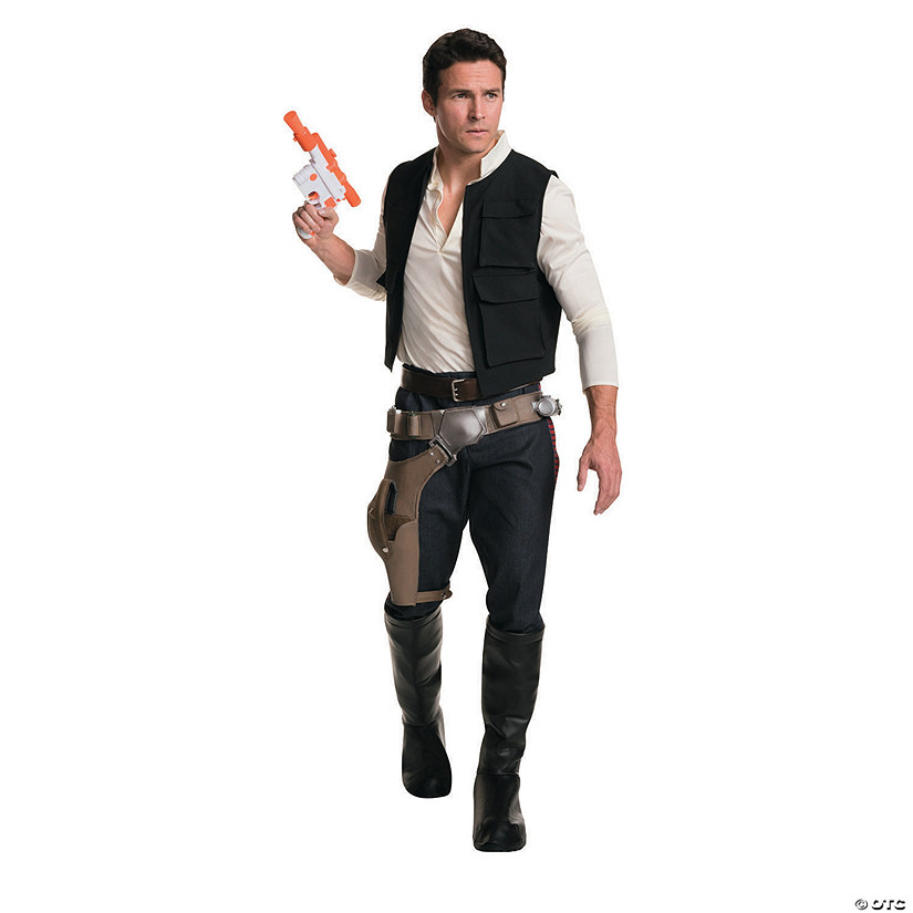 Men's Grand Heritage Star Wars™ Han Solo Costume Audio Thumbnail