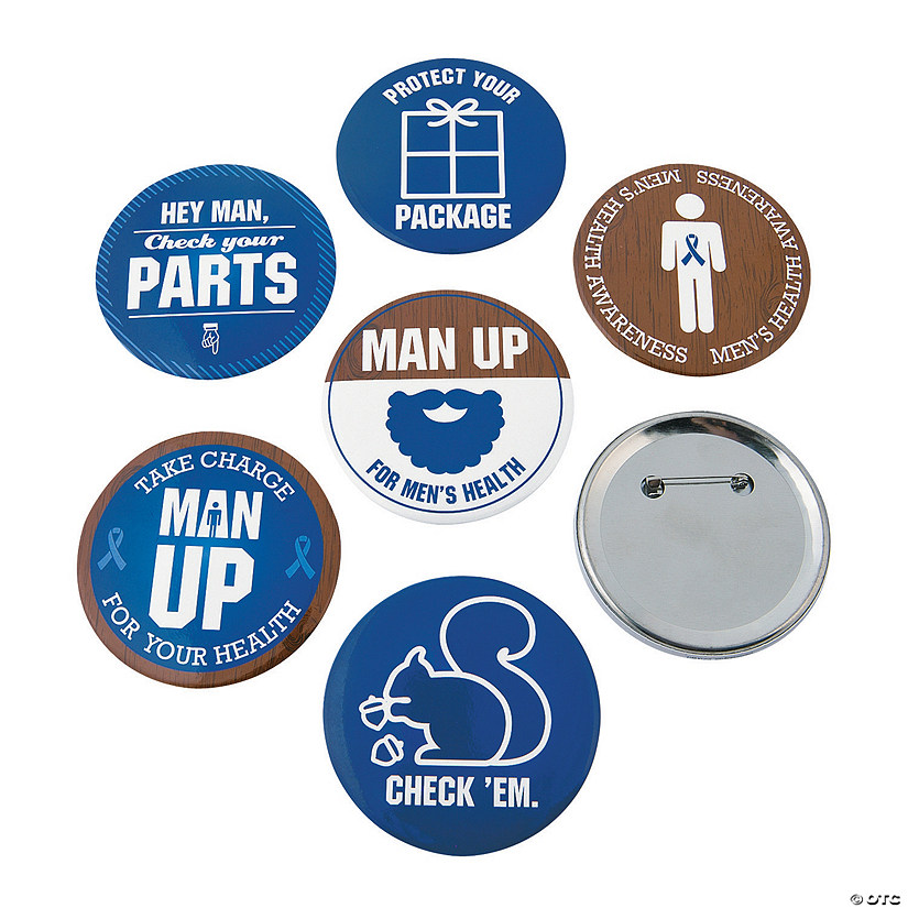 Men's Health Awareness Buttons