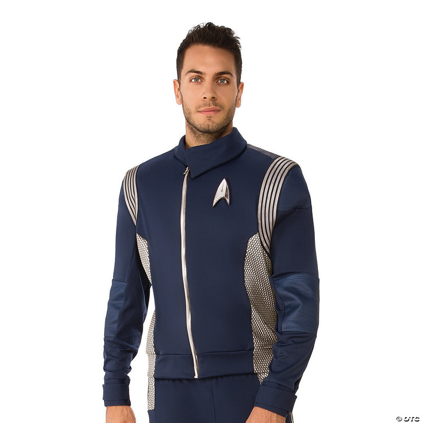 Men's Star Trek: Discovery™ Silver Science Officer Uniform Costume Audio Thumbnail