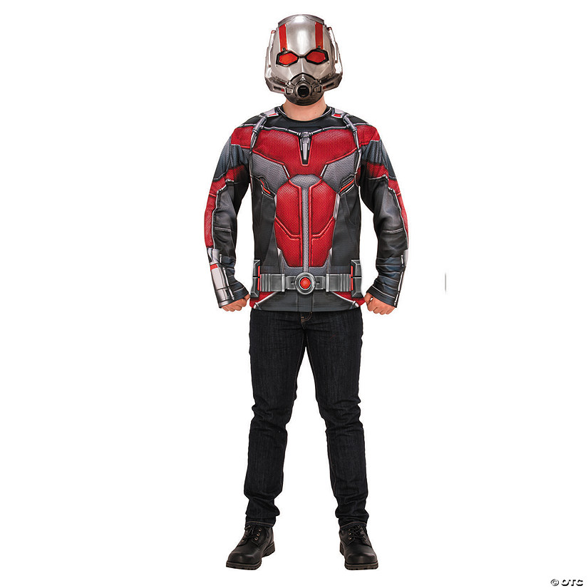 Men's Ant-Man & The Wasp™ Costume Top Set Audio Thumbnail