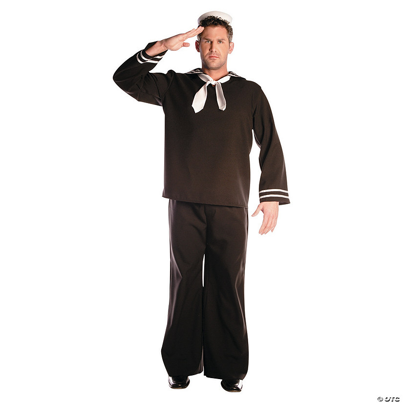 Men's Black Sailor Costume