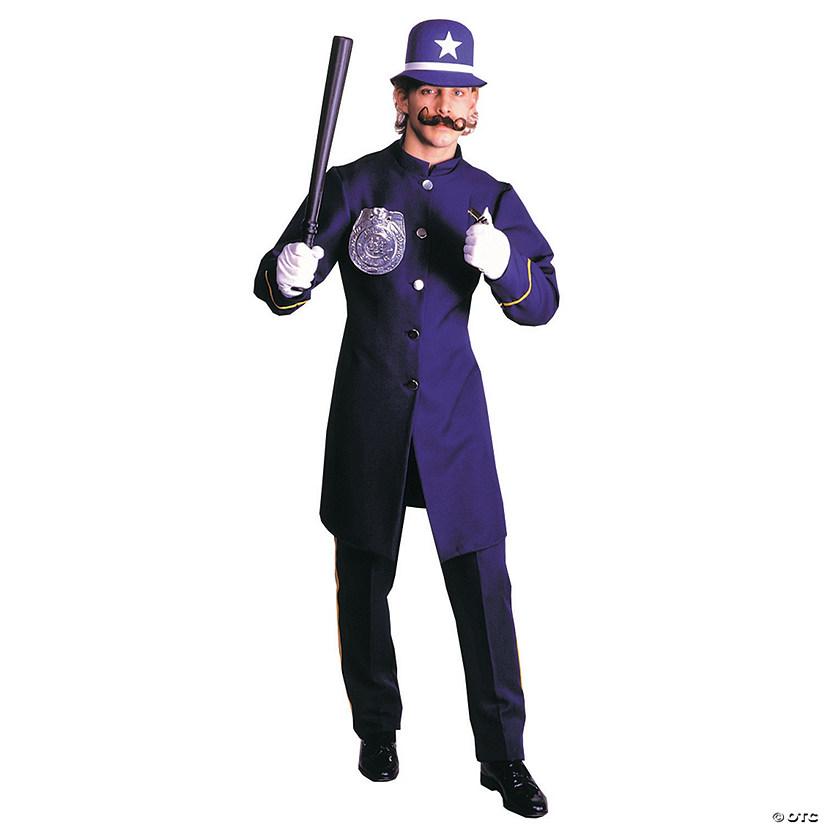 Men S Blue Keystone Cop Costume