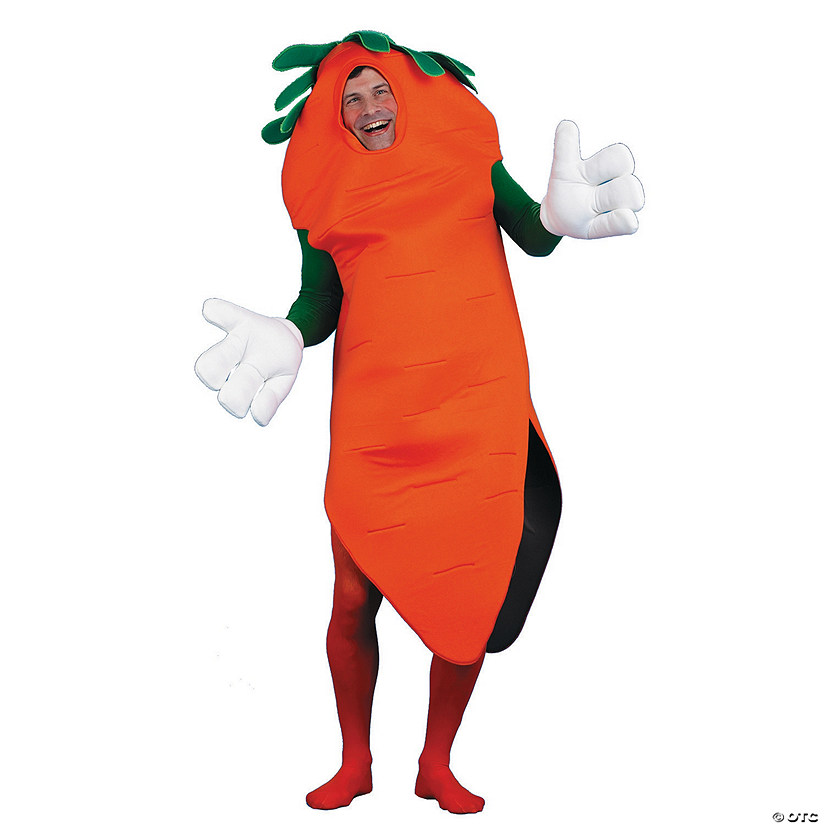 Men's Carrot Costume