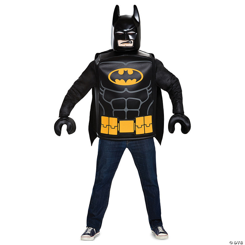 Men&#39;s Classic LEGO<sup>&#174;</sup> Batman&#8482; Costume - Medium Audio Thumbnail