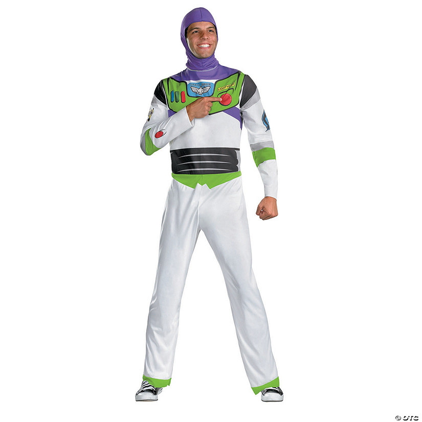 Men's Classic Toy Story Buzz Lightyear Costume Audio Thumbnail