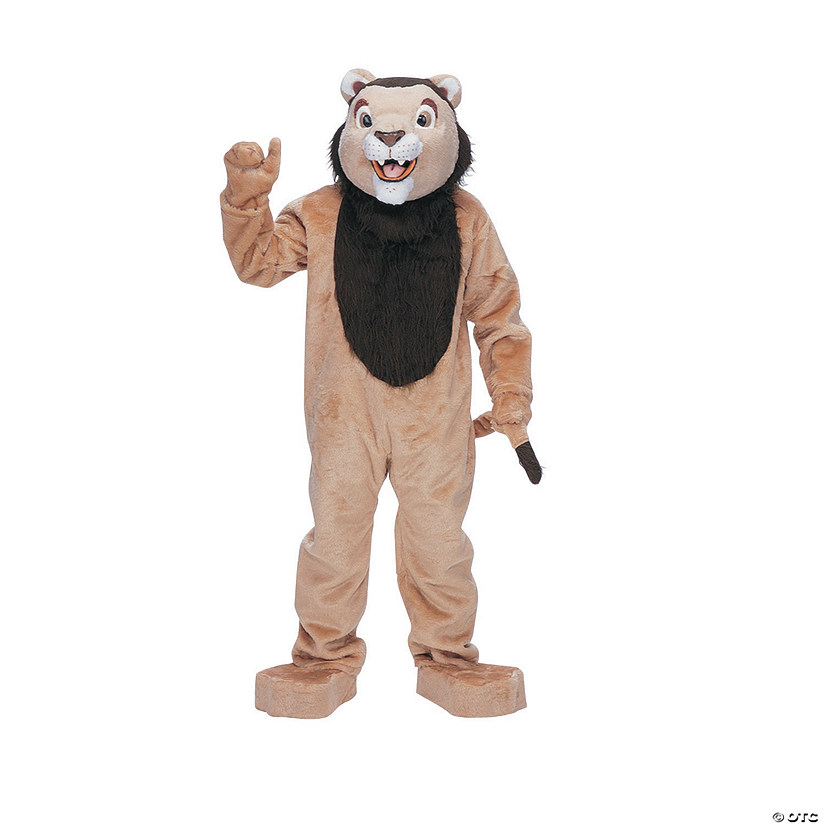 Men's Complete Lion Mascot Costume